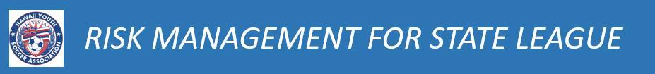 HYSA Risk Management - State League banner
